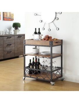 zona-kitchen-cart-with-wooden-top by mercury-row