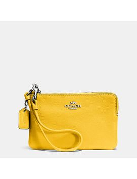 embossedsmall-l-zip-wristlet-in-leather by coach