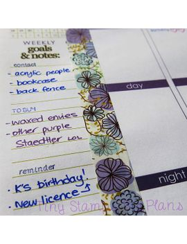 planner-stamps---action-words-(script)---limited-edition-and-almost-gone by tinystampsbigplans