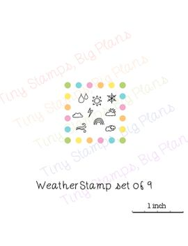 planner-stamps---weather-stamps by tinystampsbigplans