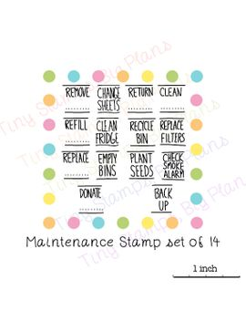 planner-reminder-stamps---maintenance-set-20 by tinystampsbigplans