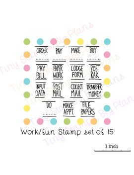 planner-reminder-stamps---work-and-fun-set---clear-stamp-set-for-your-planner-or-diary,-original-design by tinystampsbigplans