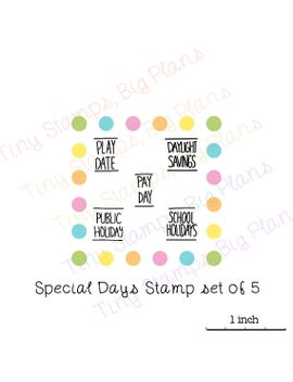 planner-reminder-stamps---special-days-set by tinystampsbigplans