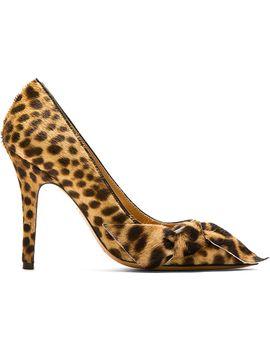 beige-leopard-calf-hair-pumps by isabel-marant