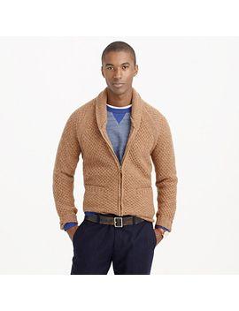 wallace-&-barnes-shetland-wool-zip-cardigan-sweater by jcrew