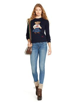 cotton-bear-sweater by ralph-lauren