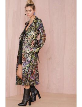 nasty-gal-collection-great-escape-jacquard-trench-coat by nasty-gal