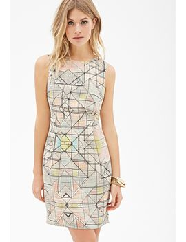 abstract-print-sheath-dress by forever-21