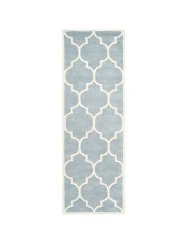 safavieh-handmade-moroccan-chatham-blue_-ivory-wool-rug-(23-x-15) by safavieh