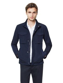 stand-collar-jacket by theory