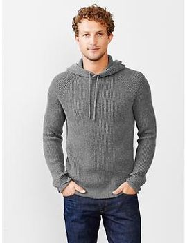 cashmere-wool-waffle-hoodie by gap