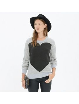 heart-sweatshirt by madewell