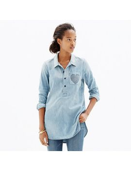 chambray-little-love-popover-shirt by madewell