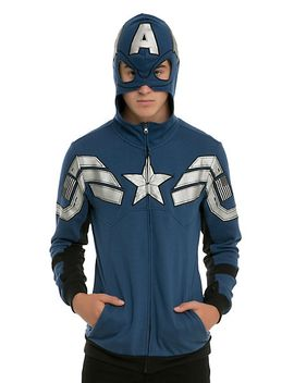 marvel-captain-america-super-soldier-costume-zip-hoodie by hot-topic