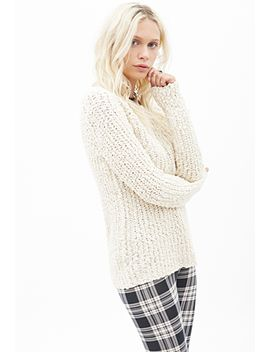 nubby-knit-sweater by forever-21
