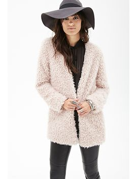 collarless-faux-shearling-coat by forever-21
