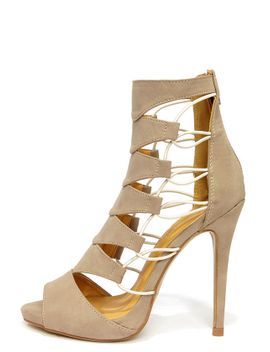 shoe-republic-la-empress-camel-nubuck-caged-heels by lulus