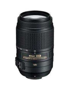 af-s-dx-nikkor-55-300mm-f_45-56g-ed-vr-lens by nikon