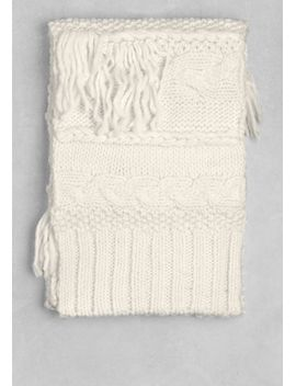 fringe-wool-scarf by &-other-stories