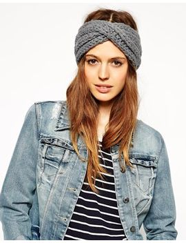 asos-wool-mix-turban-headband by asos-collection