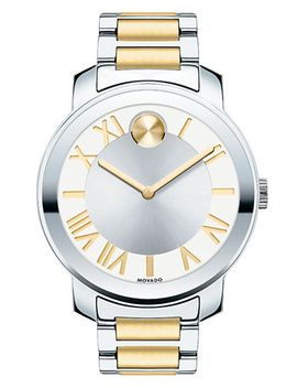 bold-luxe-two-tone-stainless-steel-bracelet-watch_39mm by movado-bold