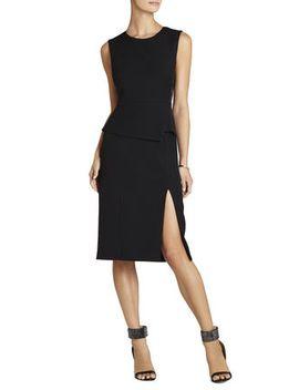 megaen-sleeveless-side-lace-insert-dress by bcbgmaxazria