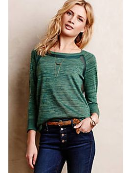 veronica-space-dyed-pullover by anthropologie