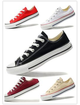 canvas-fashion-sneakers-lady--chuck-taylor-ox-low-top-womens-shoes by new-rock