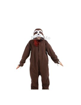 kigurumi-cosplay-romper-charactor-animal-hooded-pjs-pajamas-pyjamas-xmas-gift-adult--costume-sloth-outfit-sleepwear-sloth by rnmomo