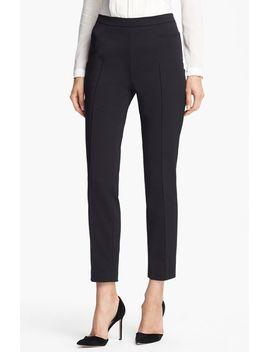 franca-techno-cotton-pants by akris-punto