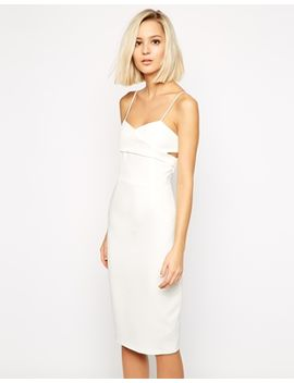 lavish-alice-crossover-bodycon-midi-dress by lavish-alice