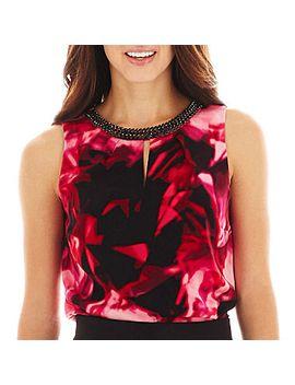 worthington®-sleeveless-jewel-neck-blouse by worthington
