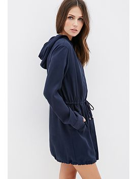 hooded-longline-utility-jacket by forever-21
