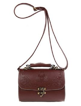 tangkula-new-womens-pu-leather-vintage-cross-body-shoulder-bags-(brown) by tangkula