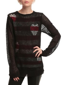 joan-jett-tripp-nyc-destructed-heart-sweater by hot-topic