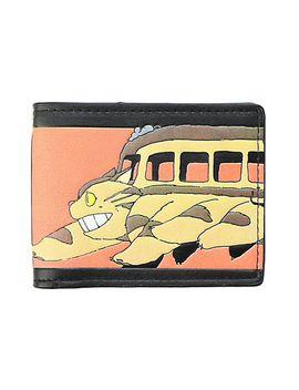 studio-ghibli-my-neighbor-totoro-catbus-bi-fold-wallet by hot-topic