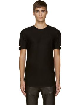 black-slit-t-shirt by helmut-lang