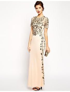 asos-red-carpet-baroque-embellished-fishtail-maxi by asos-collection