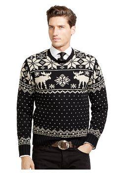 intarsia-reindeer-wool-sweater by ralph-lauren