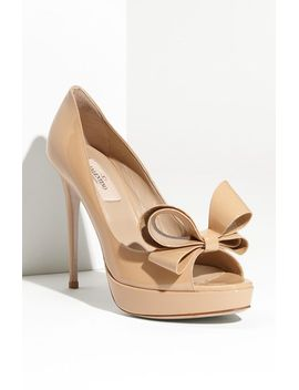 couture-bow-platform-pump by valentino-garavani