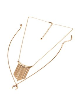 fringe-necklace-set by forever-21