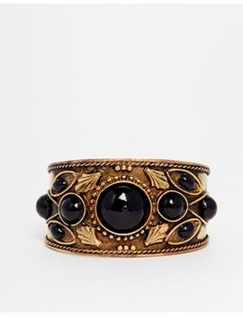 asos-festival-stone-cuff-bracelet by asos
