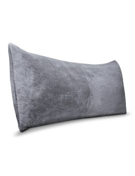 faux-fur-body-pillow-cover-gray---room-essentials by room-essentials