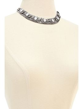western-inspired-rhinestone-necklace by forever-21