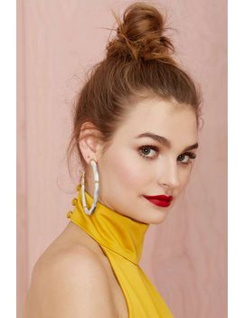 melody-ehsani-ruhiyyih-hoop-earrings by nasty-gal