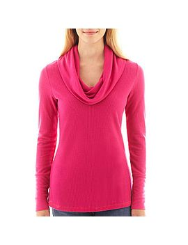 ana®-long-sleeve-cowlneck-thermal-top by ana
