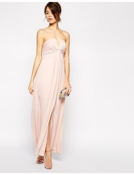 asos-soft-notch-bandeau-maxi by asos-collection