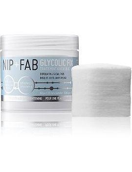 glycolic-fix-exfoliating-facial-pads by nip-+-fab