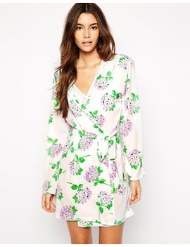 asos-blossom-print-robe by asos-collection