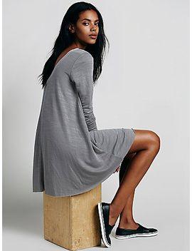 long-sleeve-swing-dress by free-people